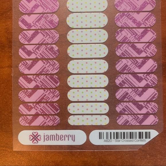 Jamberry Other - B3G1 Jamberry Star Crossed Confetti JUNIORS